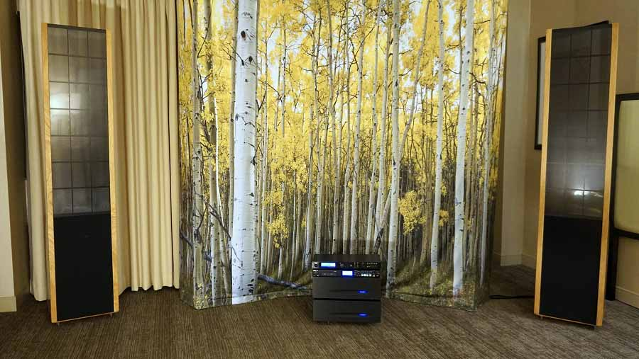 Sanders Sound Systems - Audioholics - Axpona 2106 Show Coverage